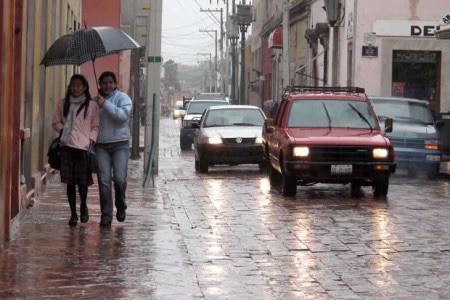 Reporte de Lluvia en Querétaro 3 de julio 2021