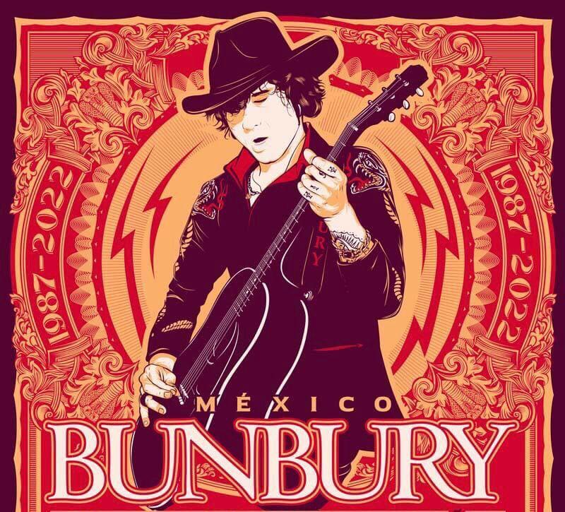 Bunbury de regreso en Querétaro