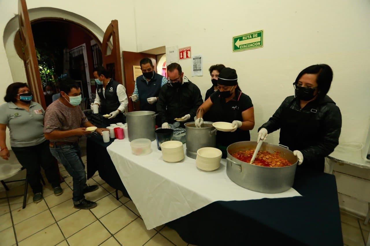 Autoridades supervisan el Albergue Yimpathí del DIF Municipal