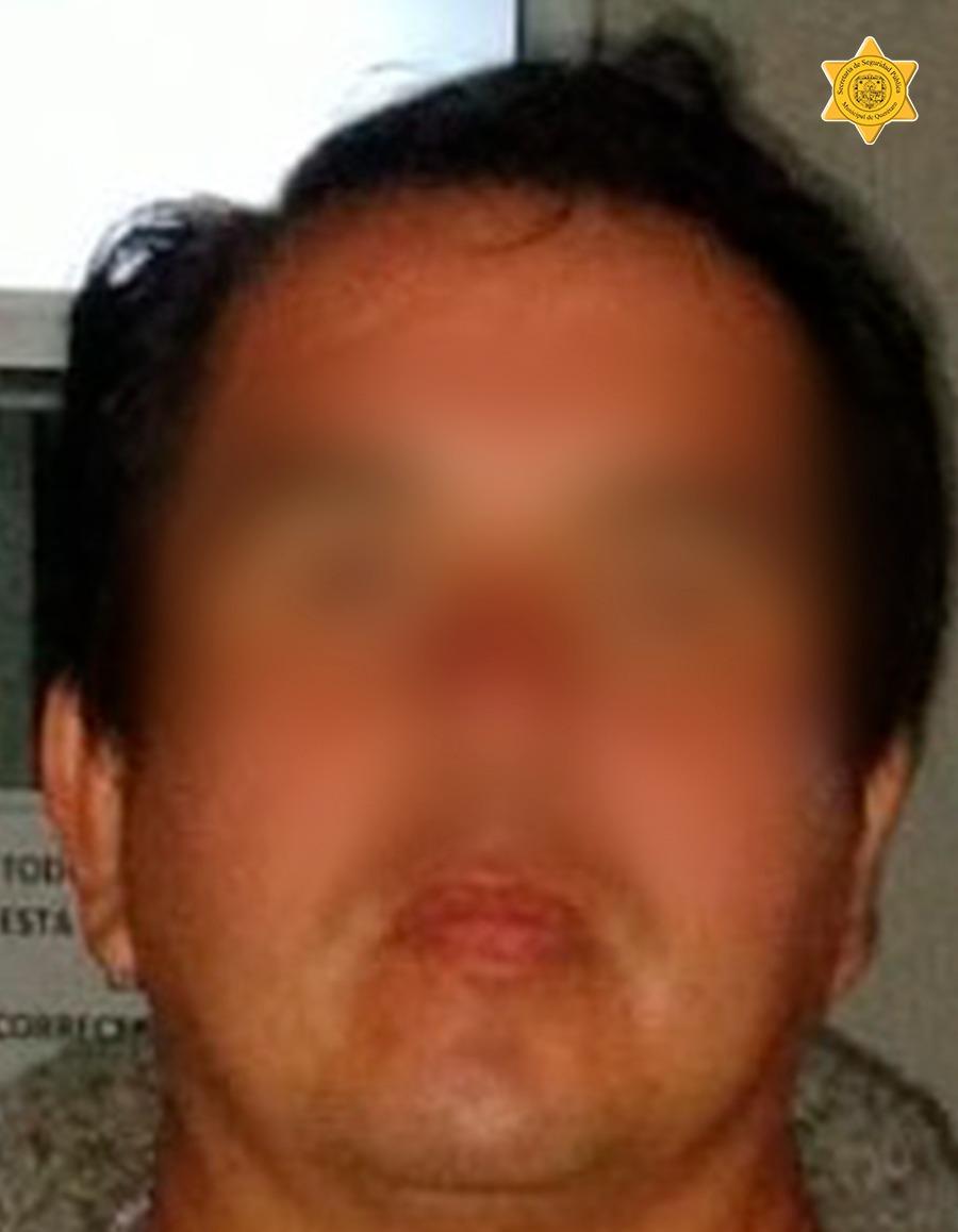 Detenido por policías de la SSPMQ por presunta participación en ilícito