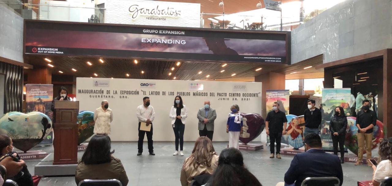 """Inauguran exposición """"El Latido de los Pueblos Mágicos"""" en el centro comercial Antea"""