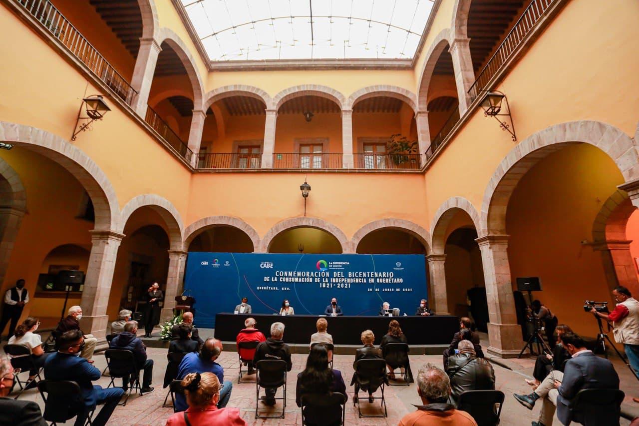 Conmemora Municipio de Querétaro el Bicentenario de la Consumación de la Independencia en la capital
