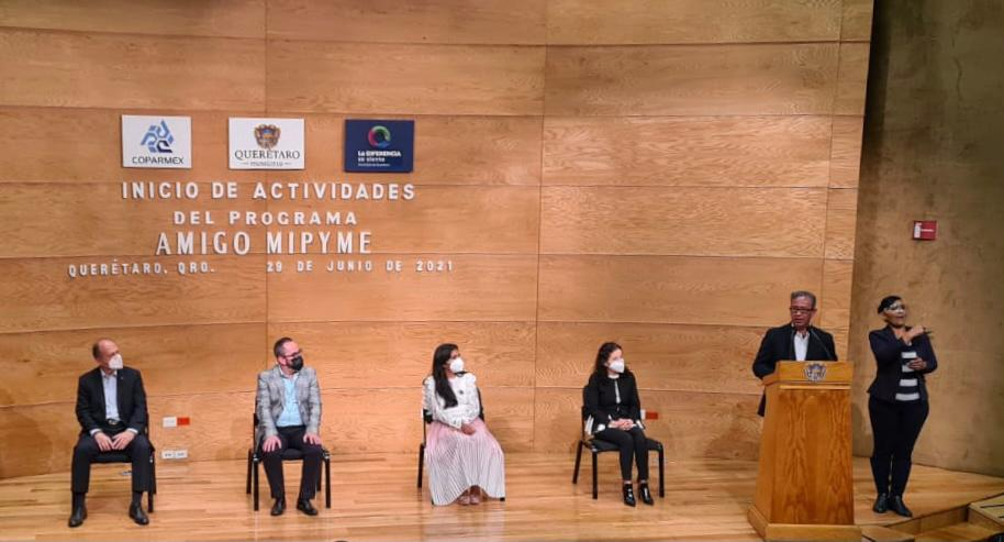 Presentan programa amigo Mipyme en el municipio de Querétaro