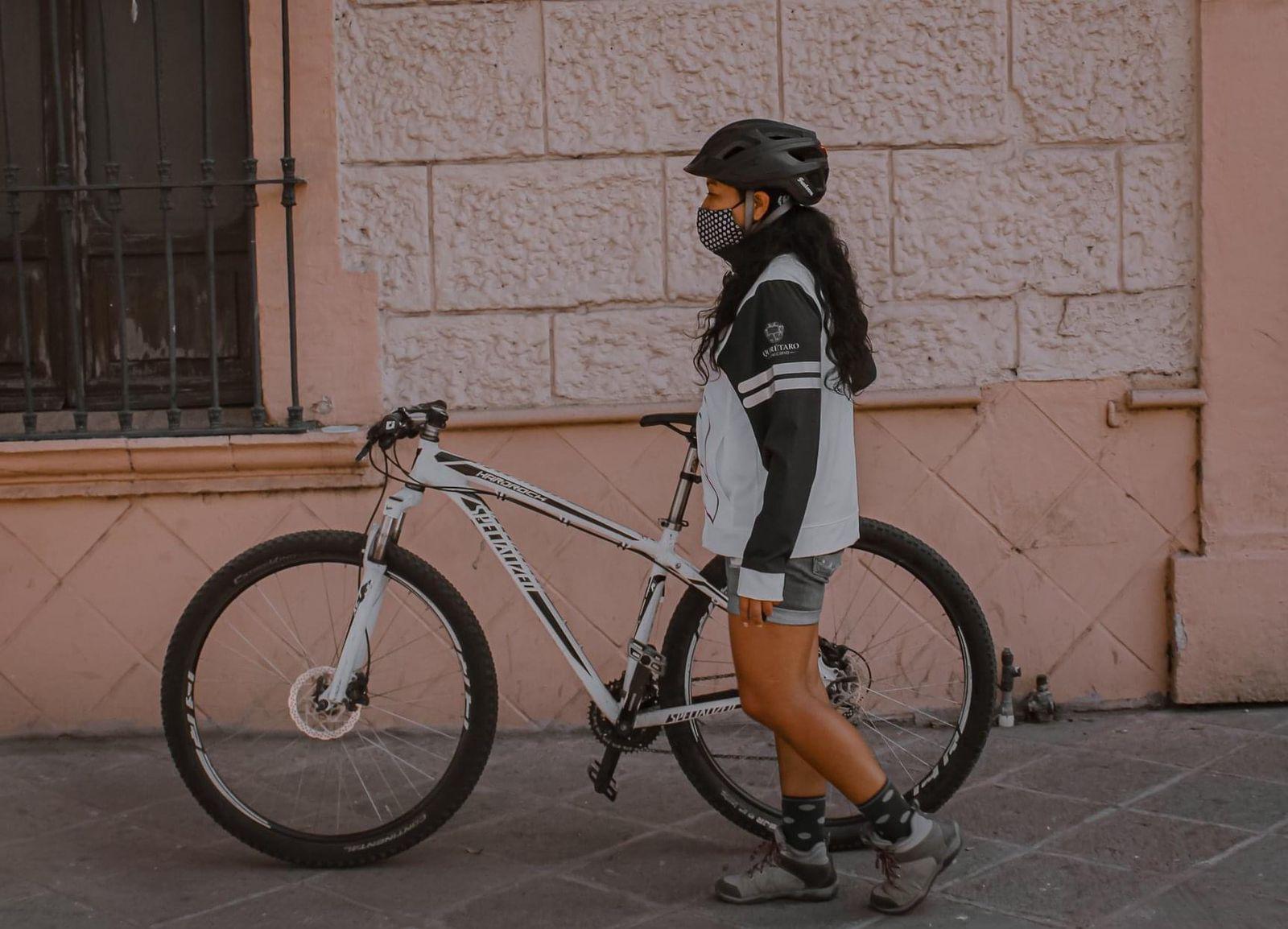 Semovi destaca acciones para grupos de ciclistas en la capital