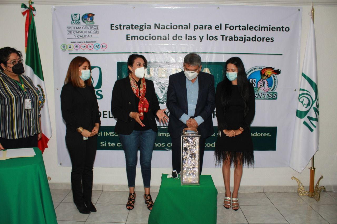 IMSS Querétaro impartirá cursos de apoyo emocional a su personal, tras la pandemia
