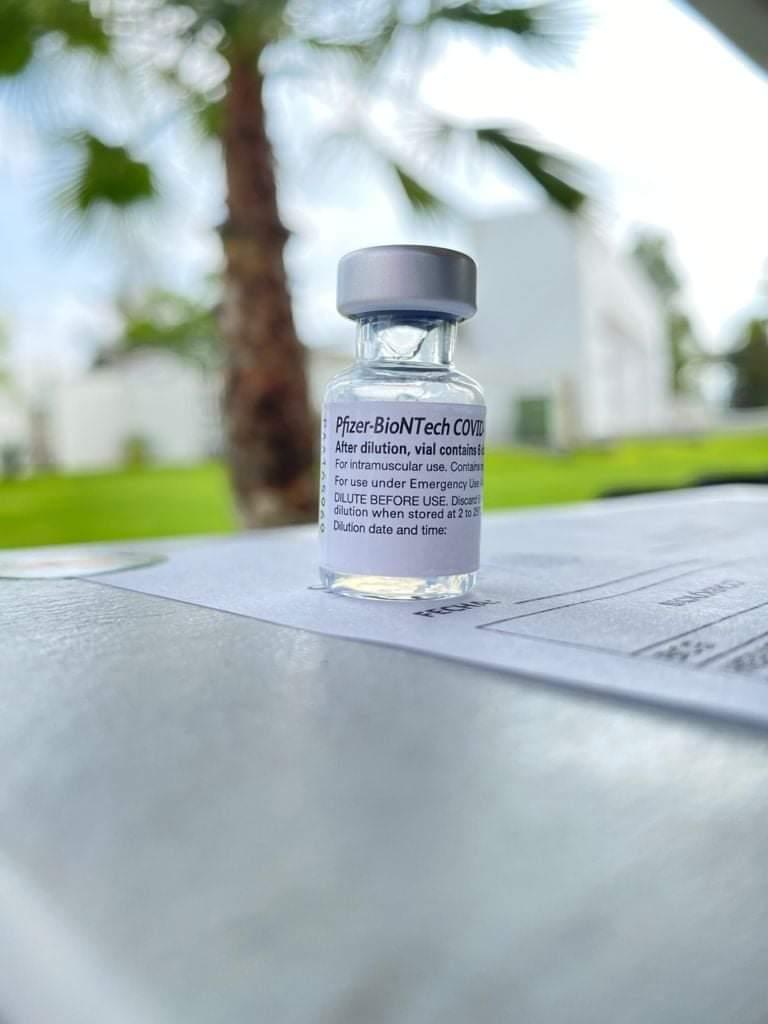 En octubre estará vacunada contra COVID toda la población adulta