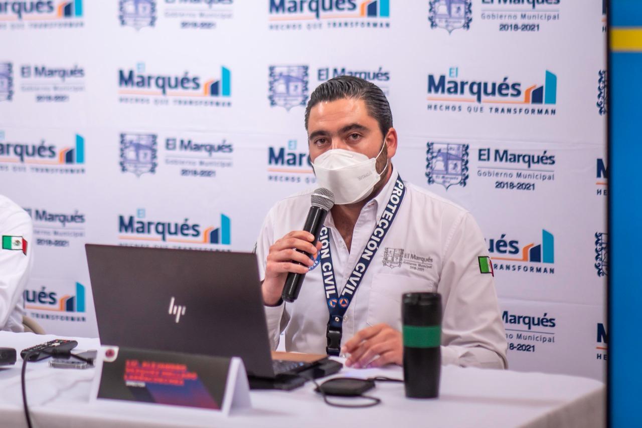 Presenta PC de E⁵l Marqués el primer Sistema de Alertamiento Temprano del estado