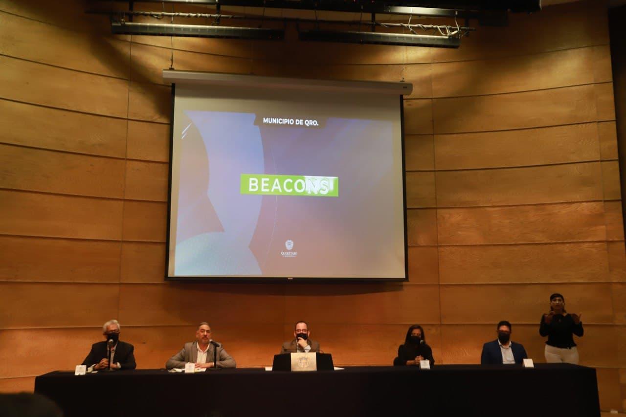 Municipio de Querétaro presenta Beacons para la reactivación turística de la capital