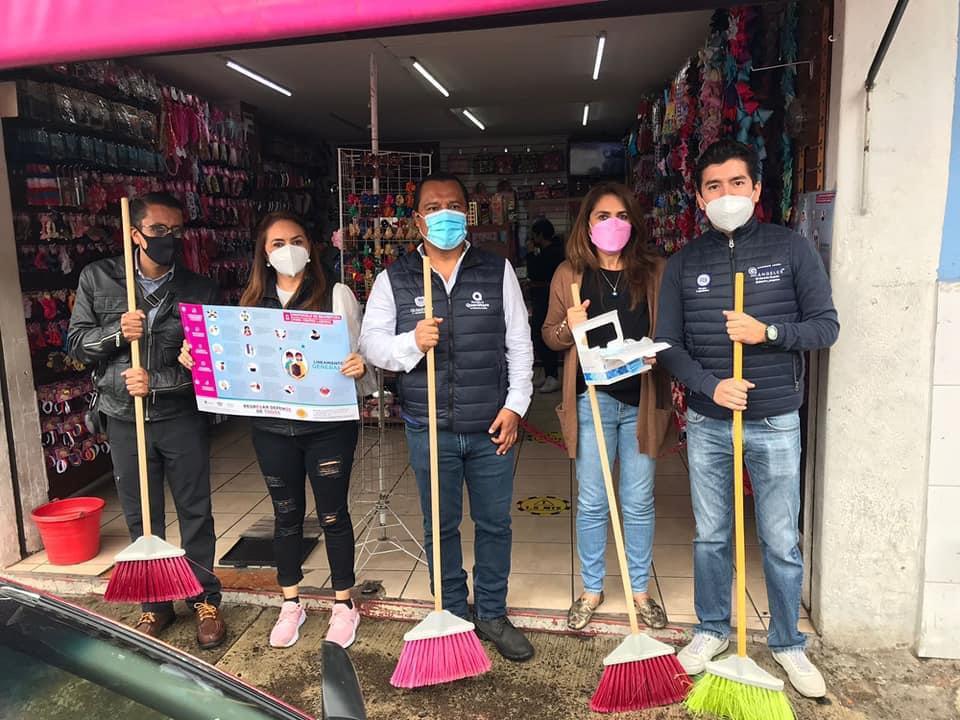 Anuncian jornada de limpieza en el centro histórico el próximo lunes