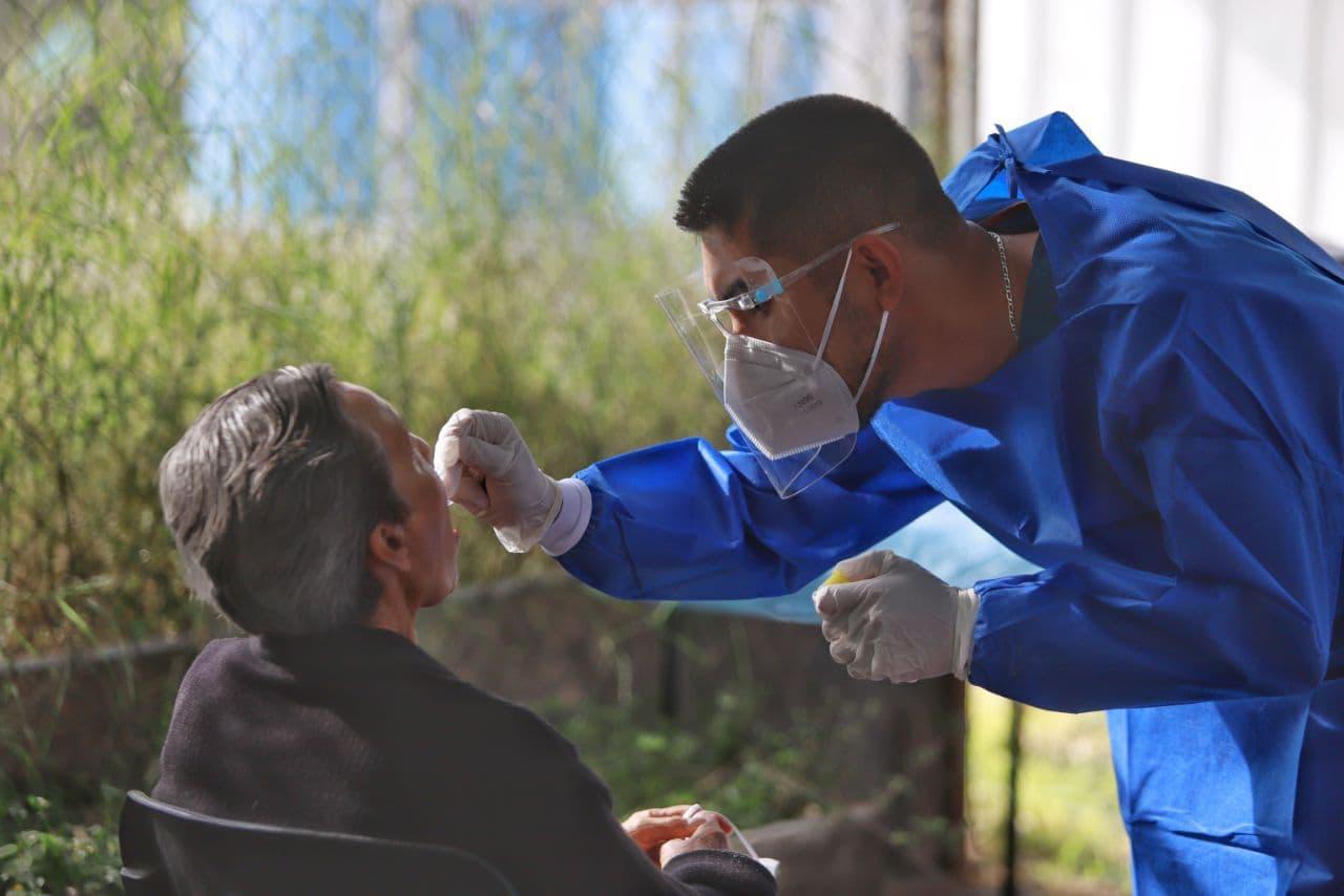 Se han aplicado más de 14 mil pruebas en la capital para la detección de covid en la capital