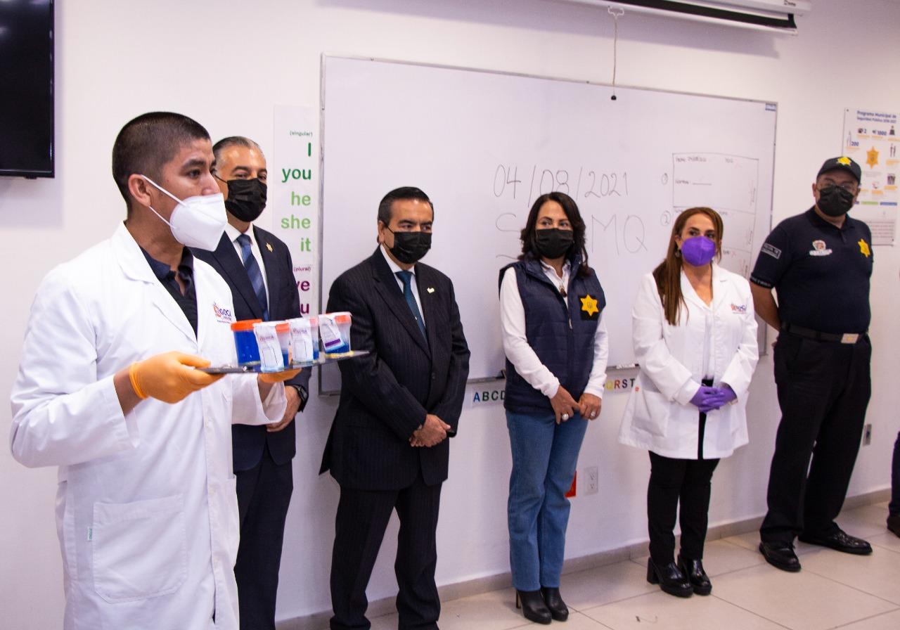 Aplica SSPMQ 669 pruebas toxicológicas sorpresivas a personal policial