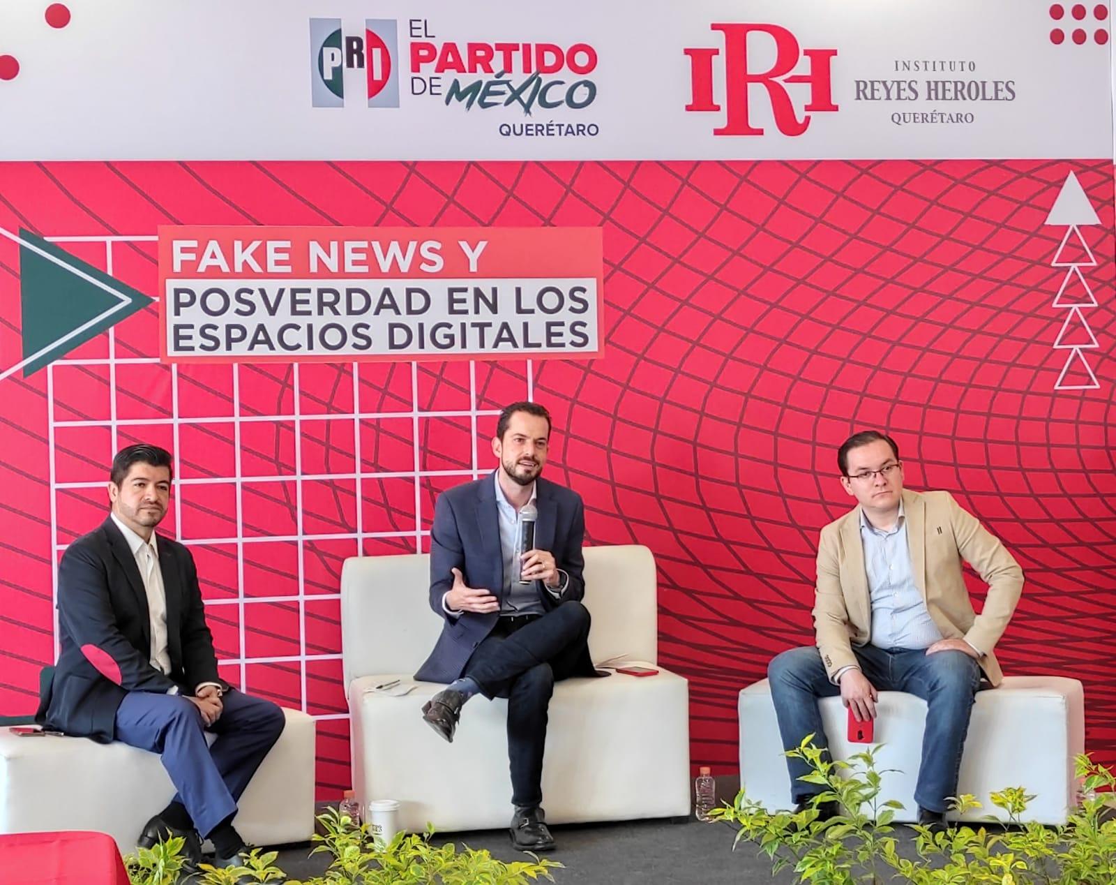 Organiza PRI Querétaro seminario sobre fake news y posverdad