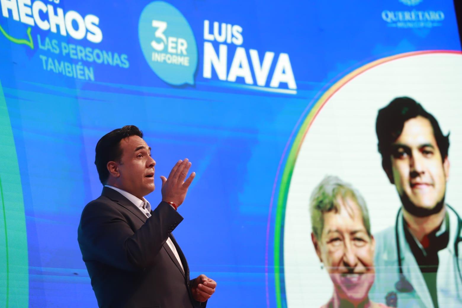 Luis Nava destaca cinco ejes durante su último año de trabajo en el municipio de Querétaro