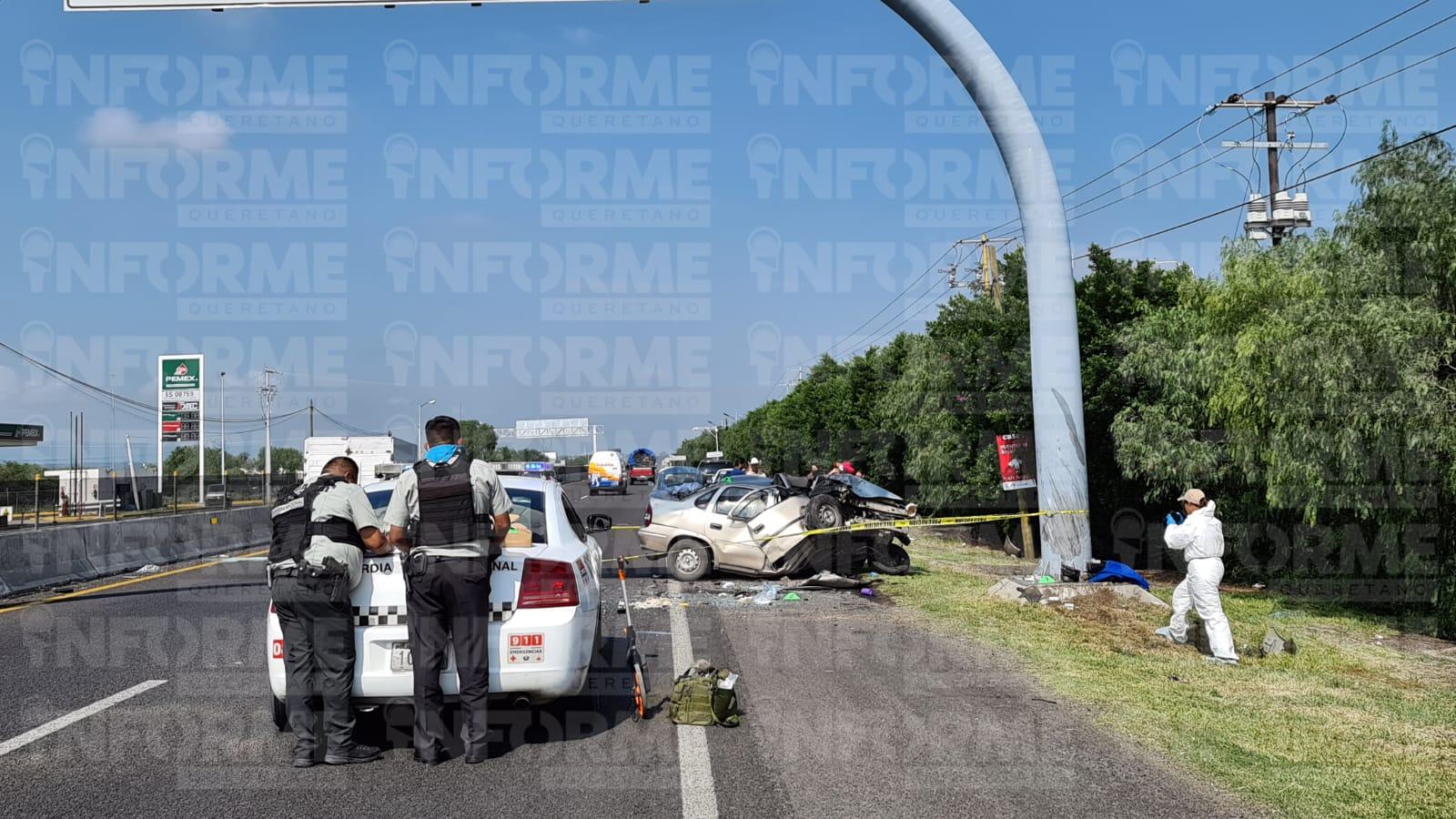 Muere una persona en choque, en la carretera libre a Celaya