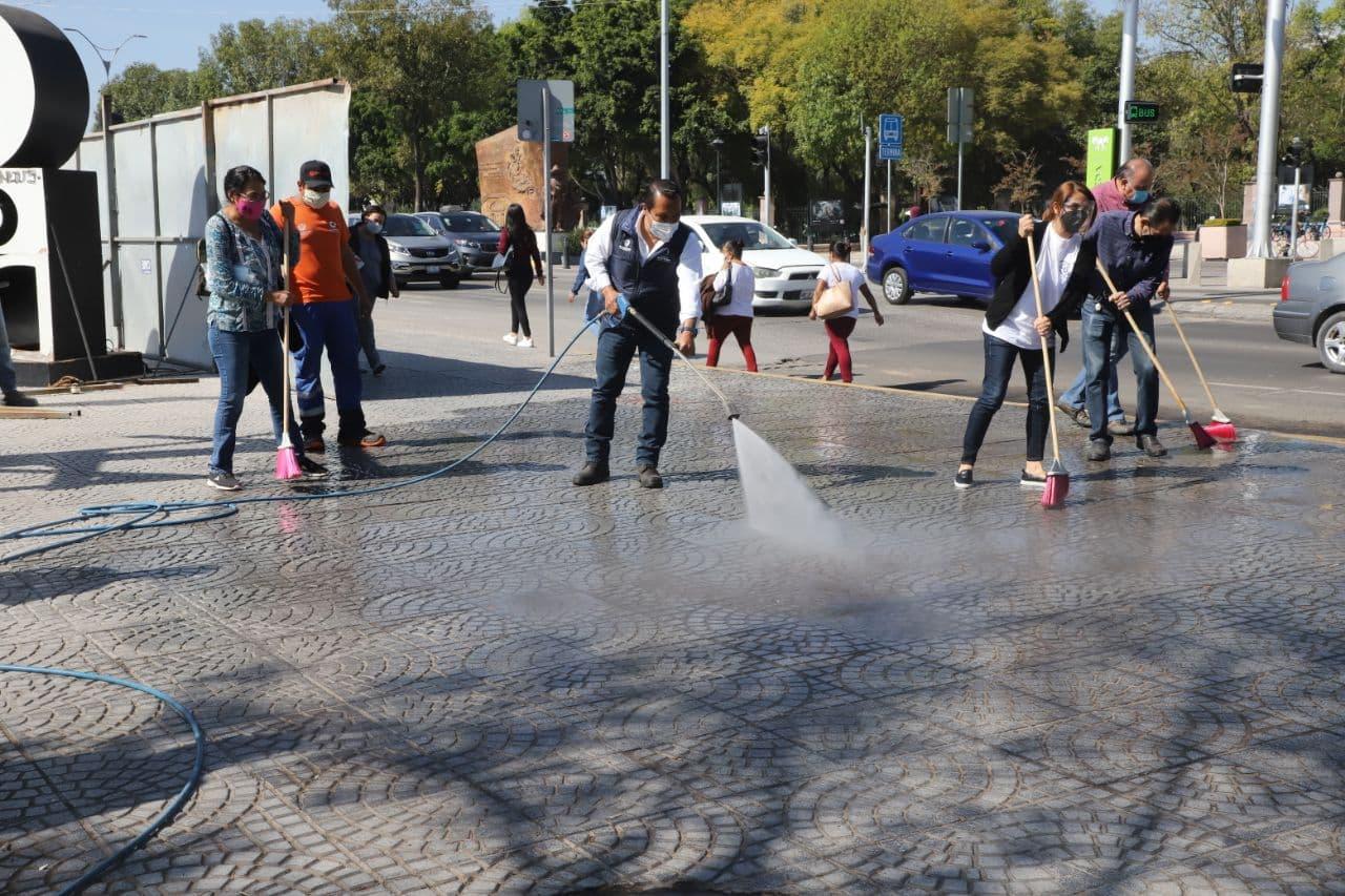 Apoyará Municipio de Querétaro la 14 jornada de limpieza en el Centro Histórico