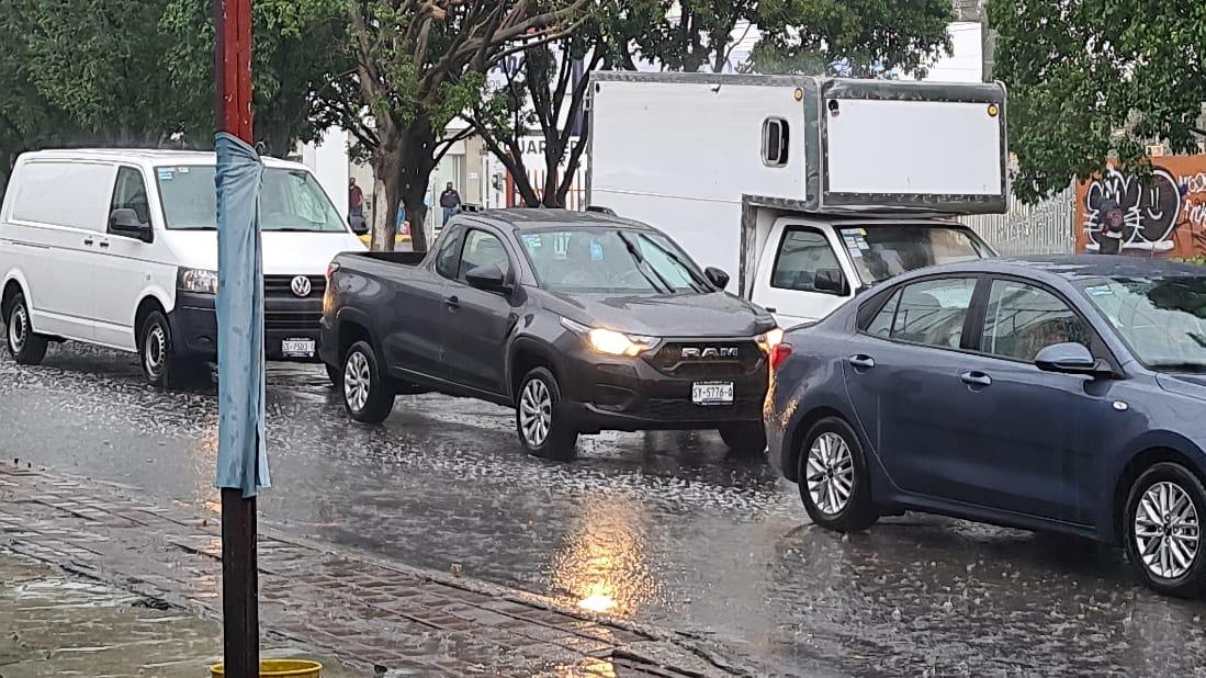 Reporte de afectaciones tras la lluvia de esta tarde