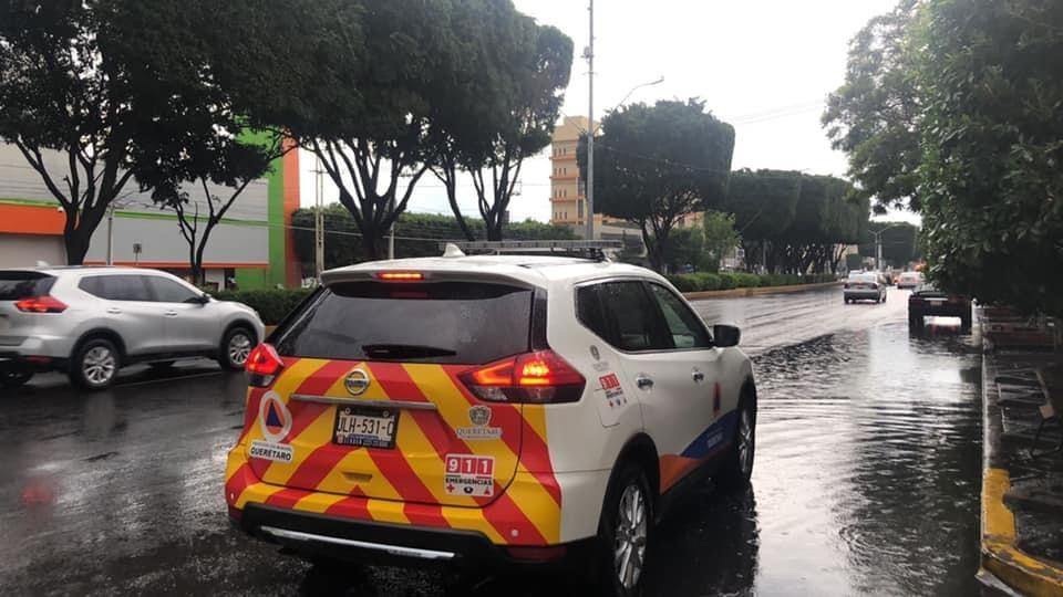 Meteorológico pronostica lluvias para Querétaro el resto de la semana
