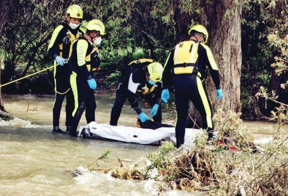 Rescatan cuerpo en el río de Santa María Begoña, El Marqués