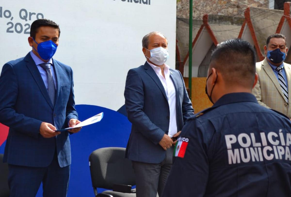 SSPyTM de Pedro Escobedo incrementa 44.5% estado de fuerza