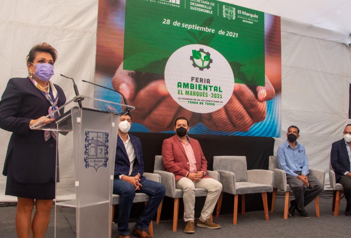 """El Municipio de El Marqués lleva a cabo la Feria Ambiental """"La conservación del ecosistema es tarea de todos 2021"""