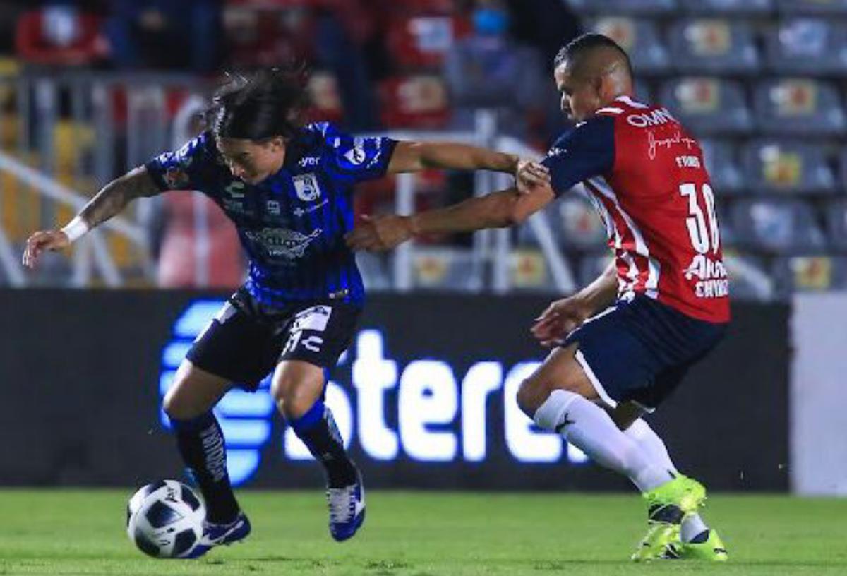 Victoria en casa Querétaro vence 1-0 a Guadalajara