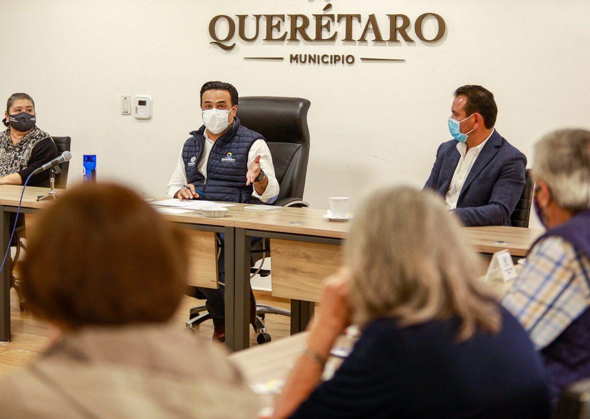 La seguridad se consolida de la mano de la ciudadanía: Luis Nava; se reunió con el Consejo Temático de Seguridad.