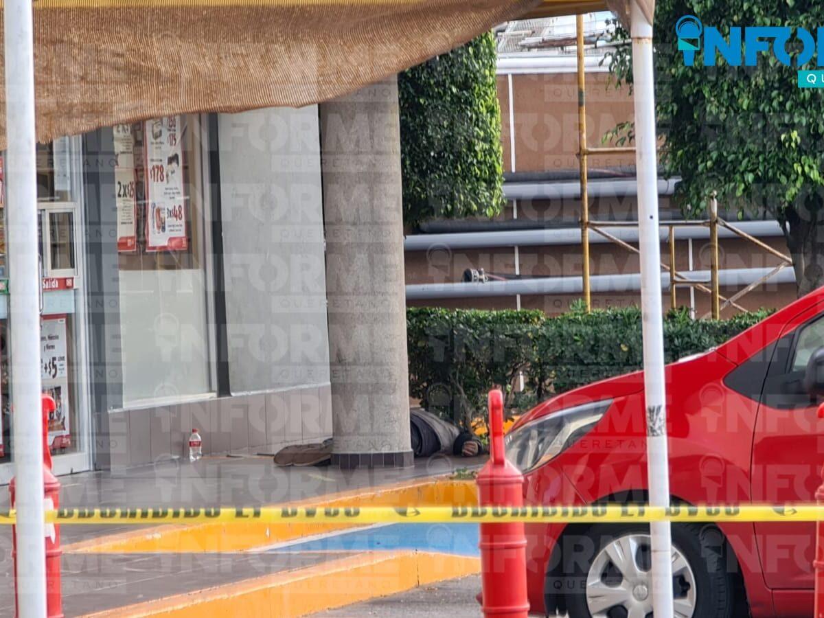 Hombre muere afuera de una tienda en La Obrera