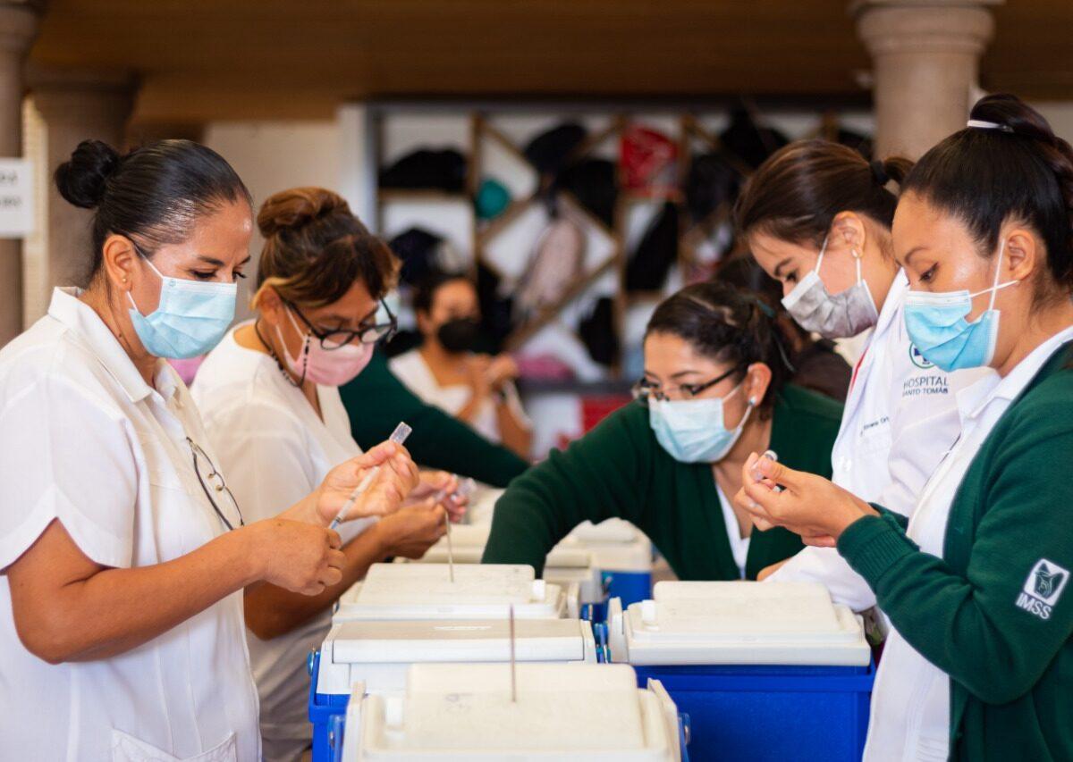 Querétaro llega al 91% de cobertura en población vacunada contra COVID-19