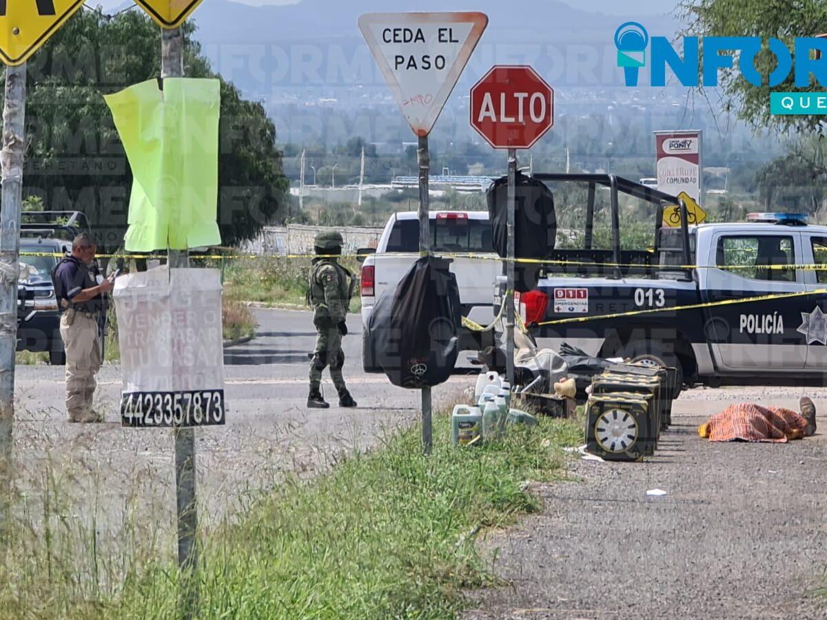 Ejecutan a vendedor de autopartes en La Estancia