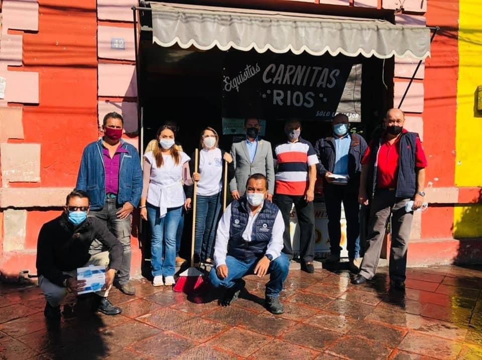 Se realiza 15ª jornada de limpieza en el centro histórico