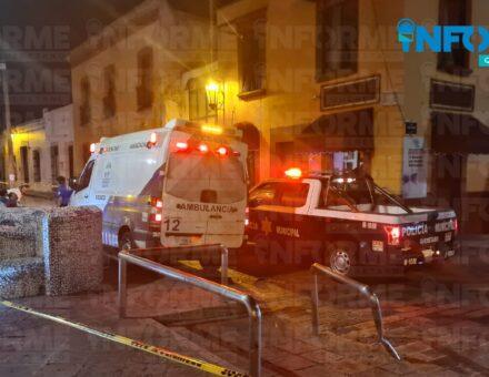 Muere un hombre en la cantina Bar El Luchador