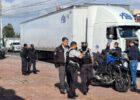 Aseguran a tractocamión en la carretera México-Querétaro