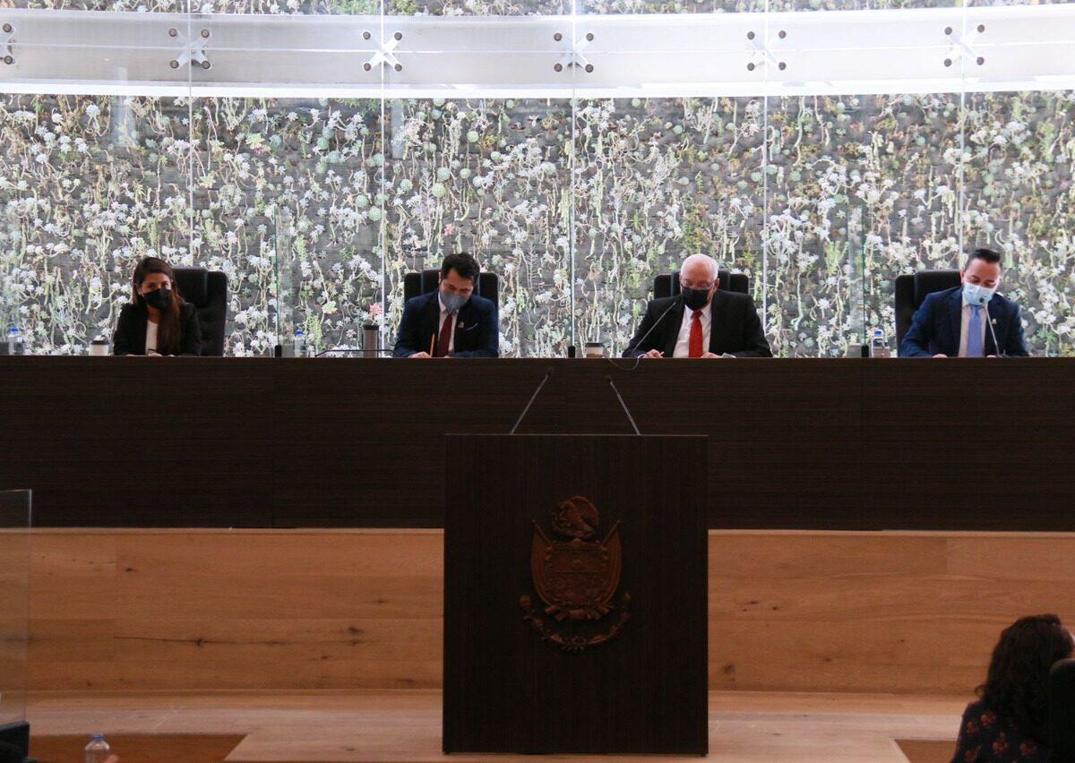 El presidente de la Mesa Directiva, diputado Jorge Herrera Martínez, afirma que en Querétaro las leyes se cumplen y se aplican