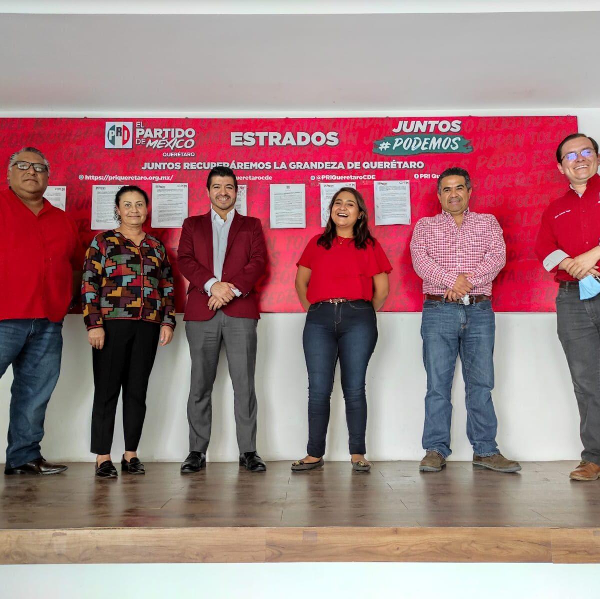 Con el 52% de apoyo de consejeros, Abigail Arredondo se registra como candidata a la presidencia del PRI