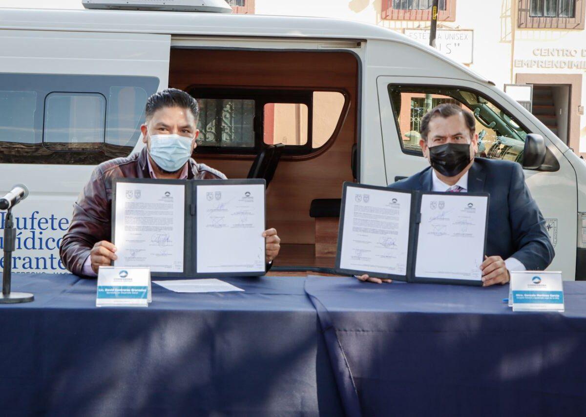 Corregidora y UAQ firman convenio para brindar asesoría jurídica y atención psicológica