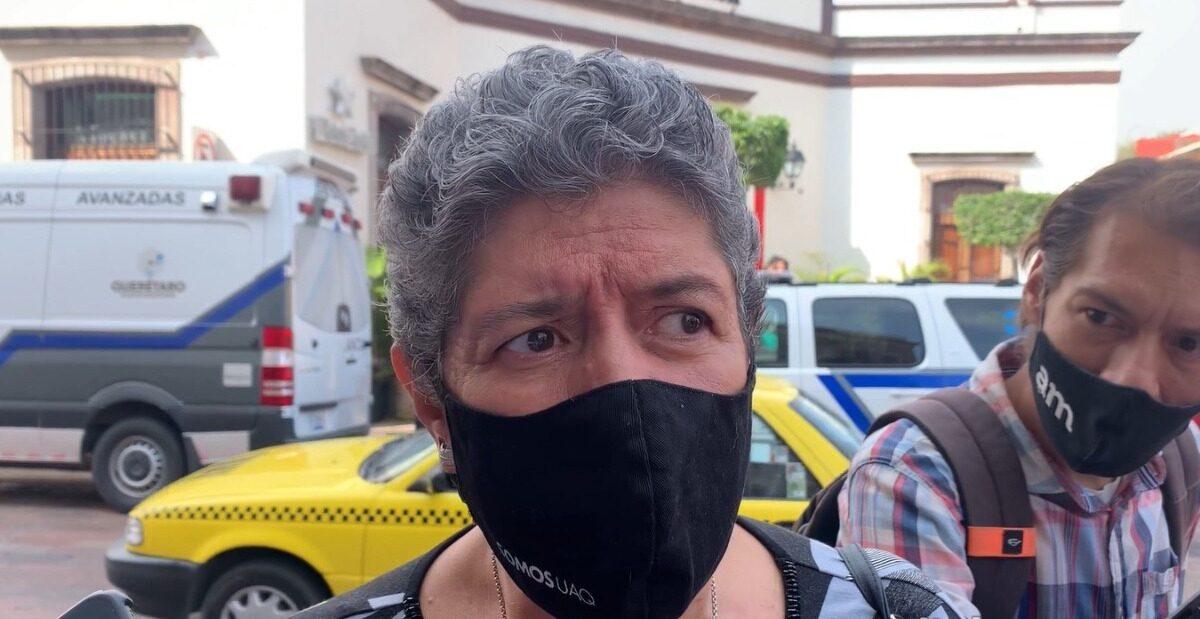 "Legisladores aprobaron el matrimonio igualitario de manera forzada"" afirmó la rectora de la UAQ Teresa García Gasca"