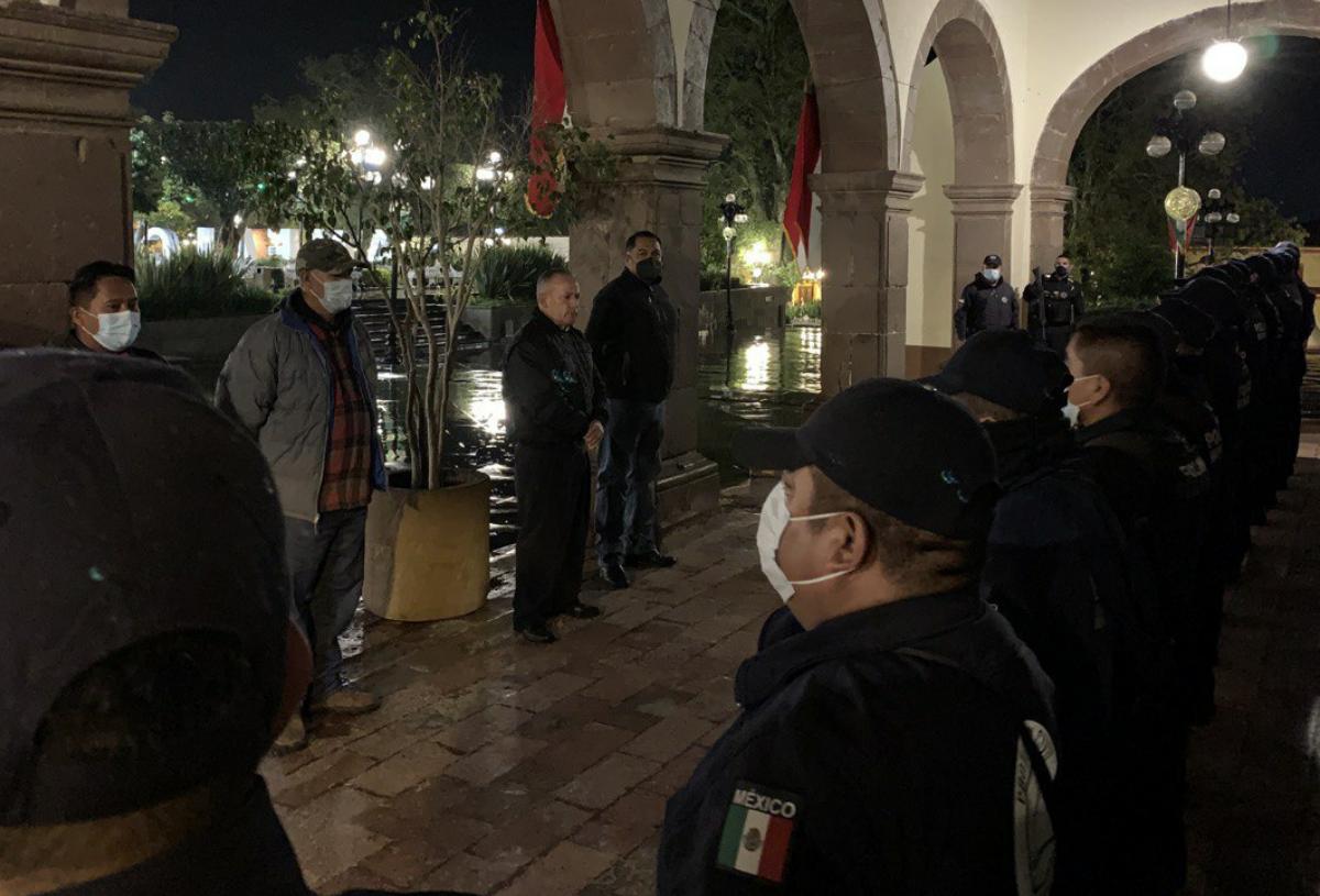Se llevó a cabo la entrega de mando policial presidente Electo René Mejía Montoya
