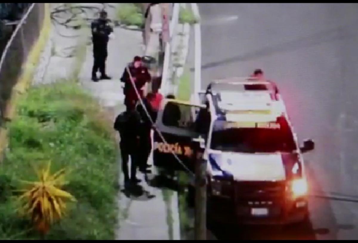 Policías municipales frustran robo en la Reforma Agraria; hay tres detenidos
