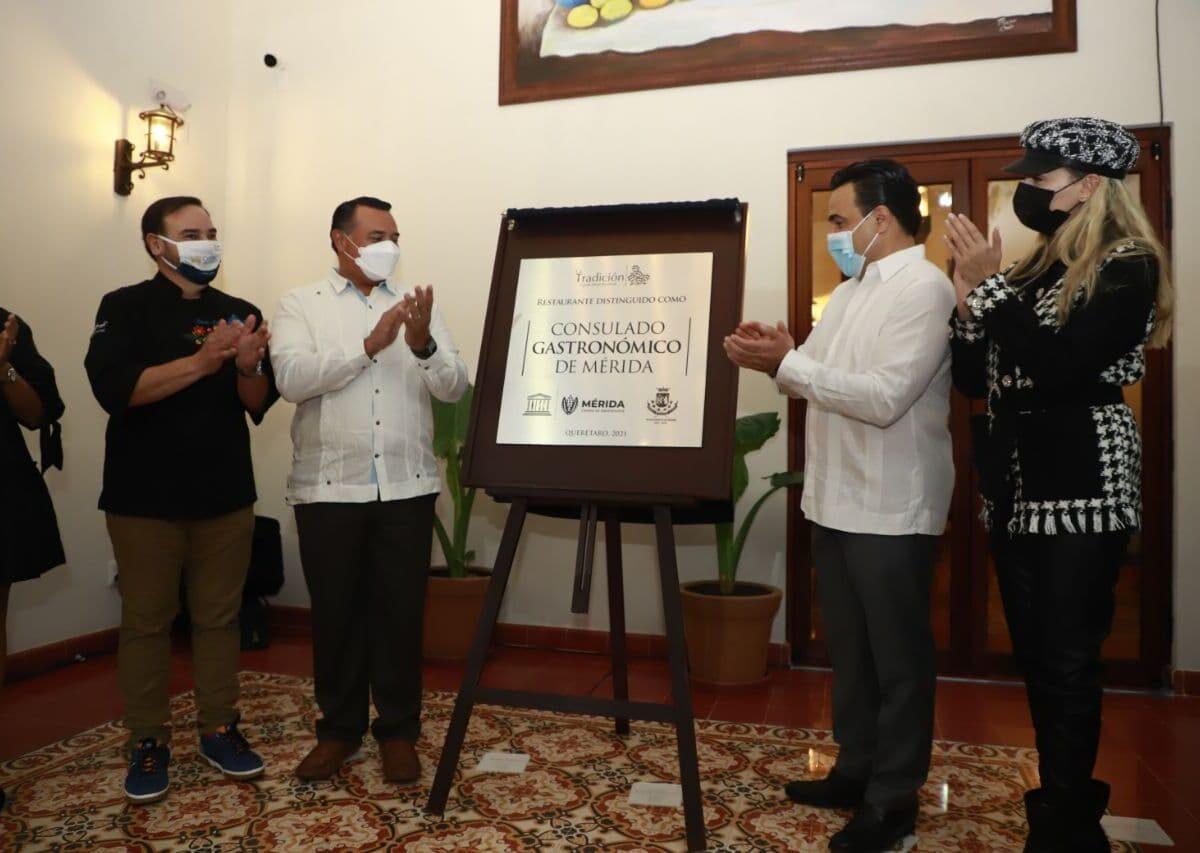 Encabeza Luis Nava inauguración del primer Consulado Gastronómico en Querétaro