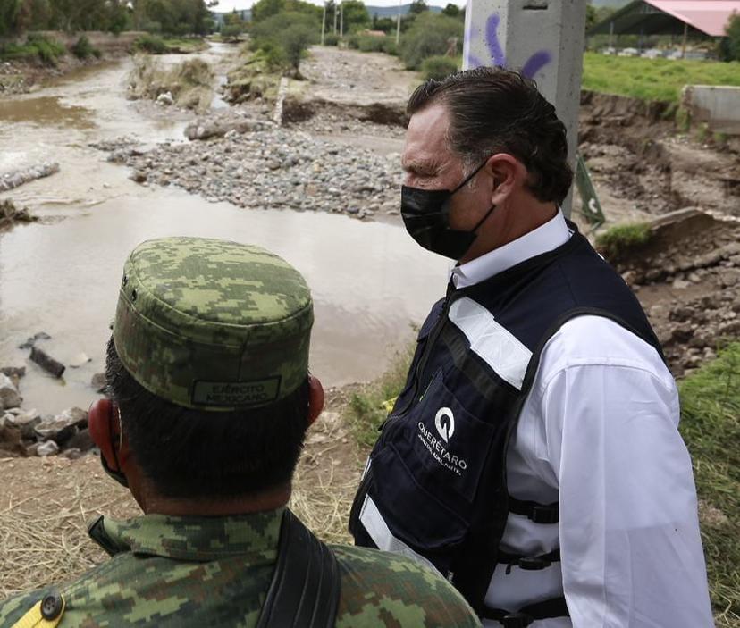 En estado de emergencia comunidades de San Juan del Río