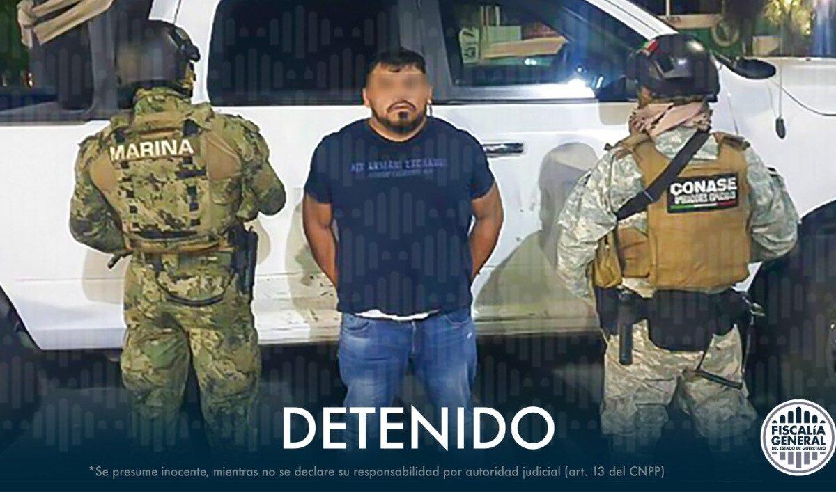 """Cae """"El Rex"""" en Querétaro; buscado por robo de hidrocarburos y delincuencia organizada"""