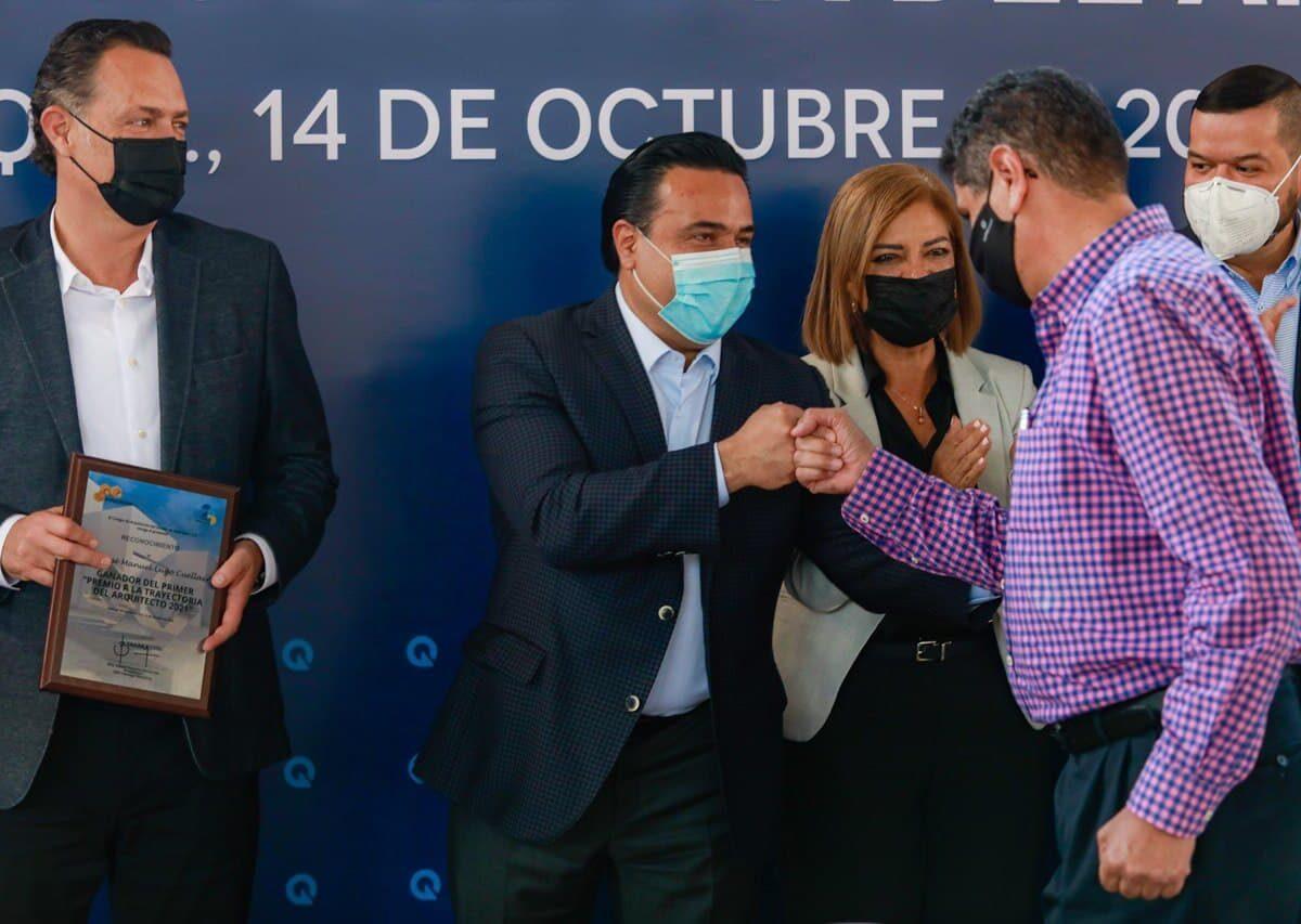 Participa Luis Nava en celebración del Día del Arquitecto
