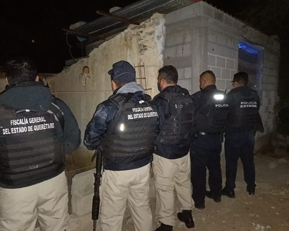 Fiscalia de Querétaro en conjunto con la Policía Estatal y las Policías Municipales realizaron, 23 actos de investigación de cateo